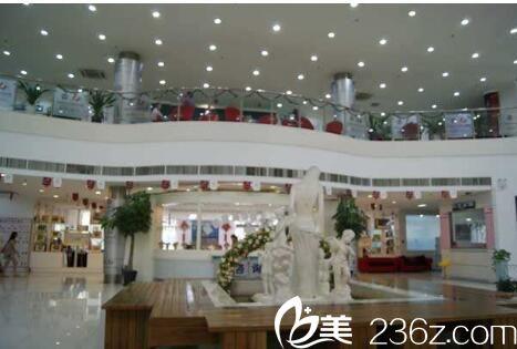 上海天大医疗美容医院走廊