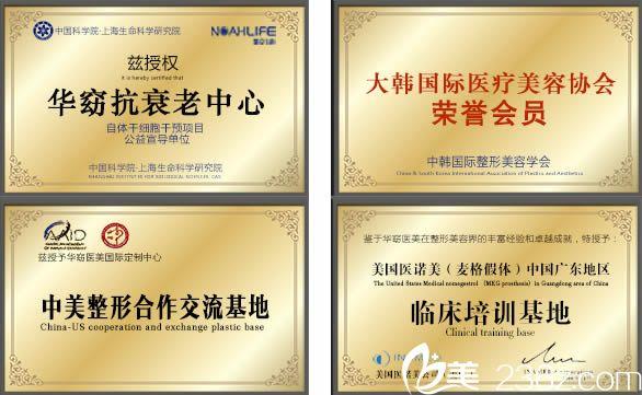 获得多项荣誉证书