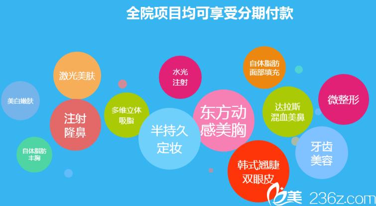 南宁东方整形医院支持整形分期付款