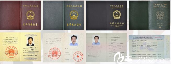 北京丽都医疗美容医院闵医生资质荣誉