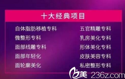 九江华美10大经典项目