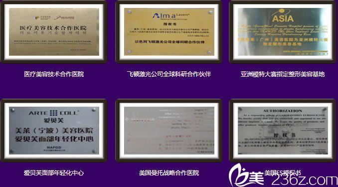 宁波美莱荣誉资质证书