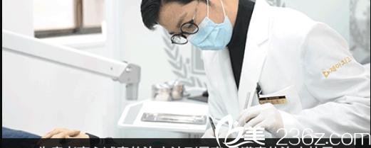 韩国齐娥牙科姜永浩院长手术过程