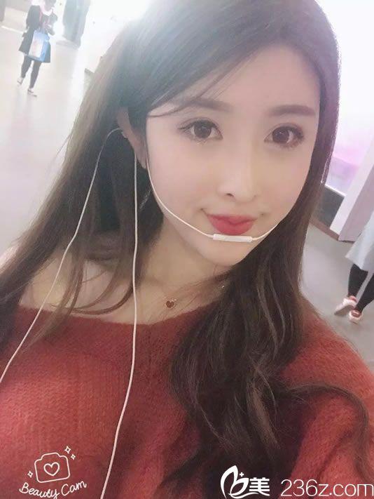 25岁网红主播分享在杭州美莱找马燕虹做无针水光补水真实效果图