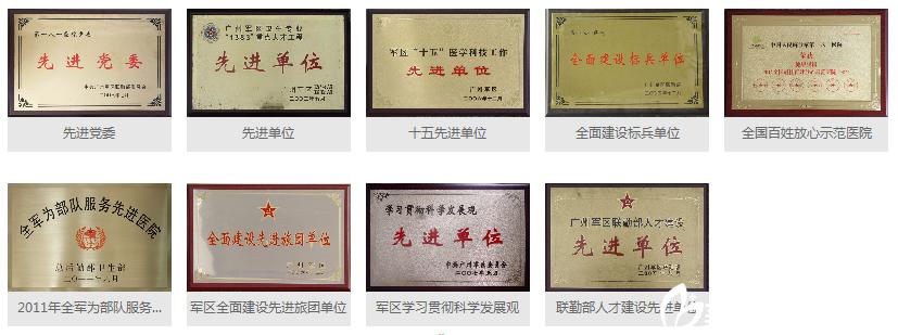 桂林181医院荣誉证书