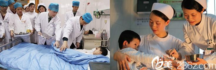 桂林181医院整形美容科医生护士工作照