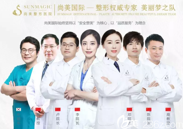 宁波尚美整形专家团队