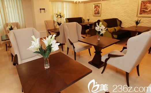 北京美莱医疗美容医院休息区