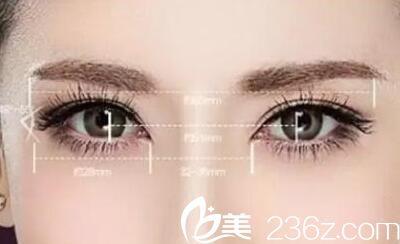 长春正韩双眼皮手术美学标准