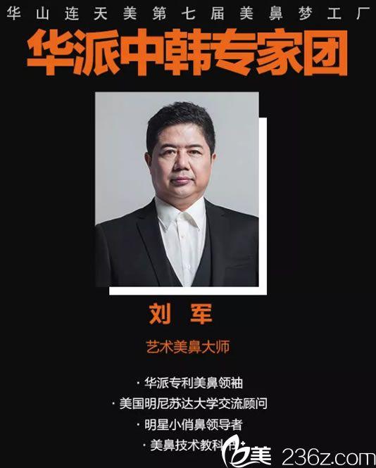 华派中韩专家团刘军院长简介