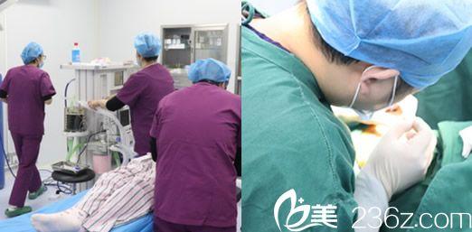 在铜陵晶美整形美容医院做隆鼻失败修复+不明注射物取出过程图