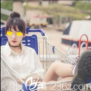 上海美立方李民臣为我打的瘦脸针,脸至少小了一圈