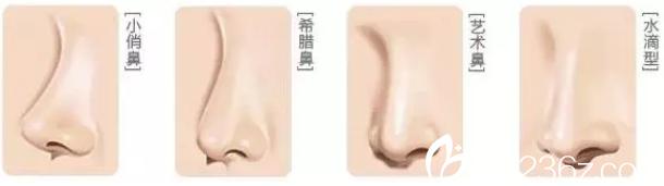 梧州华美隆鼻手术鼻型