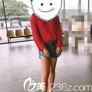 快看我在沈阳盛京尚美做吸脂瘦大腿一个月后效果,简直判若两人!
