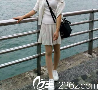 结合北京知音和加减美腿部吸脂案例我找李奇军做了水动力吸脂