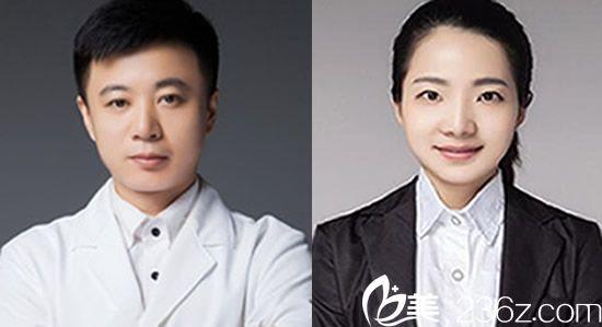 、以张哲、吴雪姣为代表的纯韩塑美团队