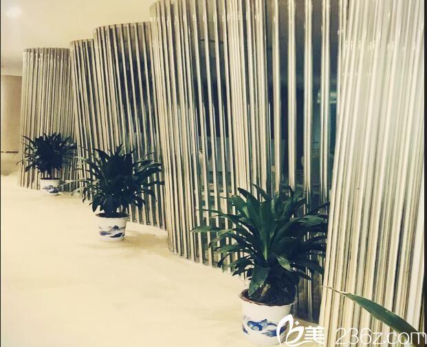 南京华韩奇致美容医院走廊