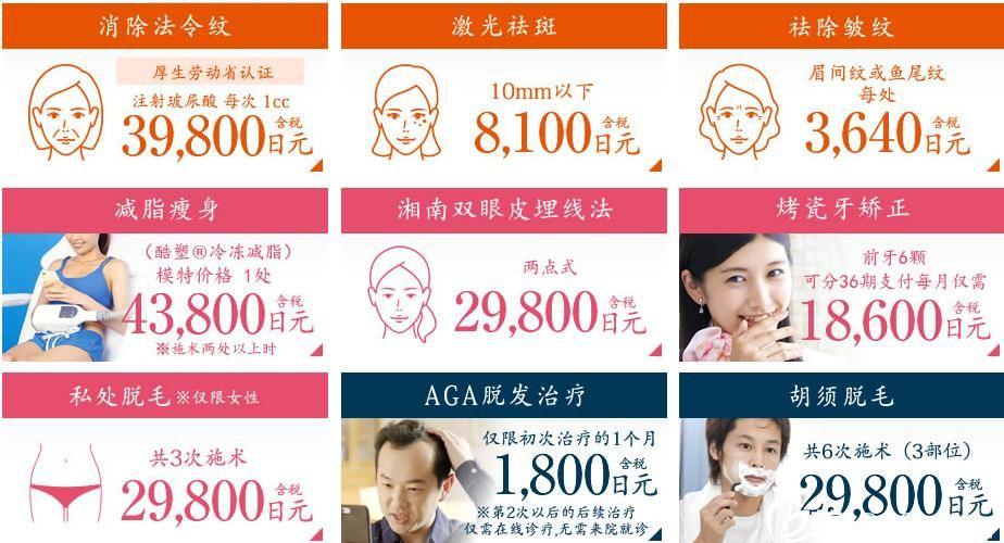 日本湘南价格表单