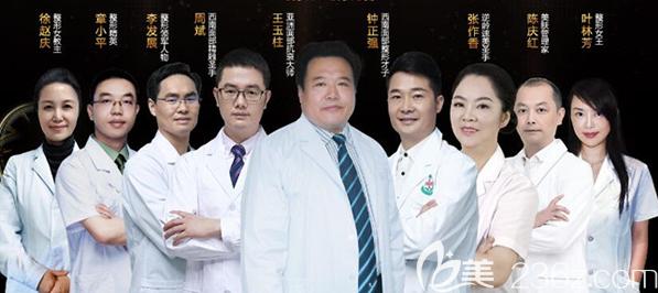 成都军大整形医院医师团队