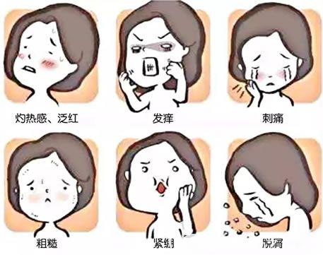 敏感肌有哪些表现