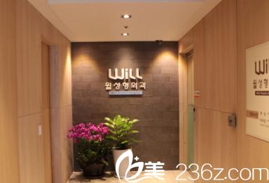 韩国will医院环境优雅温馨