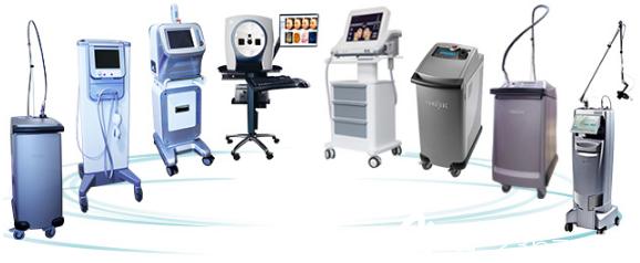 医院塑美设备展示