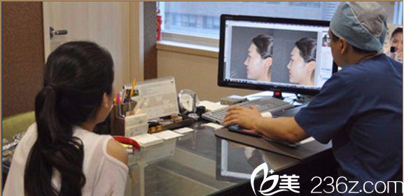 韩国will医院魏亨坤院长术前3D假想设计