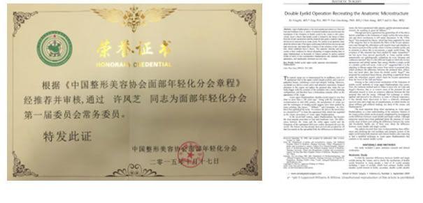 许凤芝发表的论文
