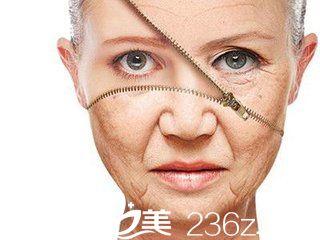 面部胶原蛋白流失、皮肤衰老