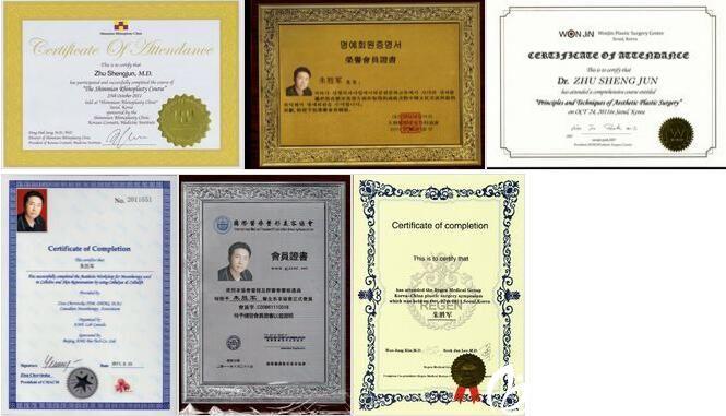 获得荣誉证书