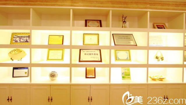博雅美惠整形医院荣誉证书