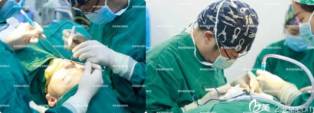 找李志生医生隆鼻手术过程