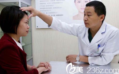 深圳鹏程医院刘冰大夫面诊过程