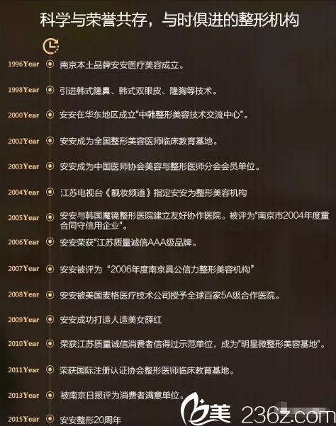 南京安安发展历程