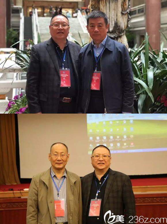 温州星范陈乃波与张斌会长和李自明合影
