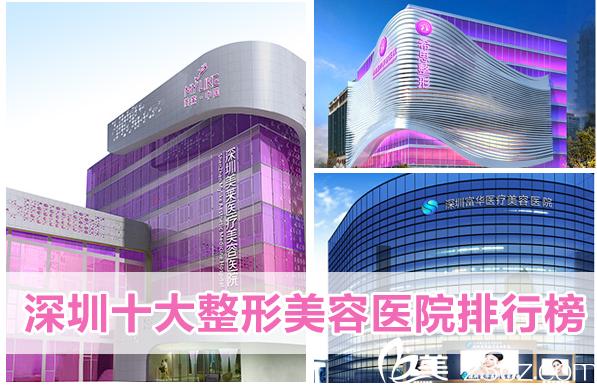 深圳十大整形美容医院排行榜