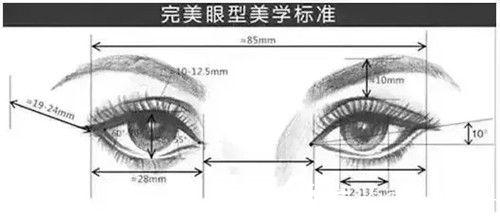 完美眼睛标准