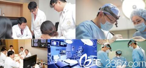 沈阳安娜宝士丽医疗美容院内韩籍医生团队