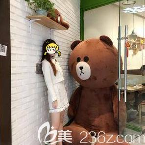 在北京艺星做大腿吸脂第31天效果