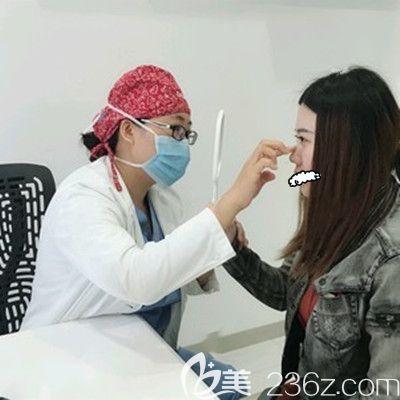 天津联合丽格刘容嘉医生耳软骨鼻综合整形术后1天案例