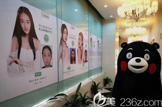 深圳春天医院走廊案例展示图