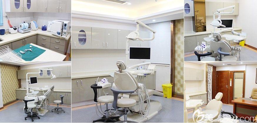 深圳拜尔齿科无菌消毒室及治疗室室环境