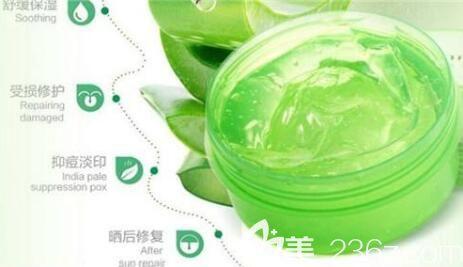芦荟胶祛斑美白作用