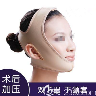 下巴抽脂术后需要带特质头套