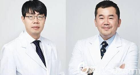韩国艾恩整形医院院长朴宰贤和金承俊