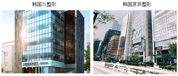 韩国TL整形医院和原辰整形医院大楼