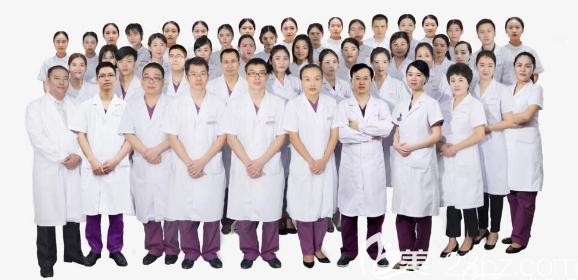 东莞韩美整形美容医院医生团队合影