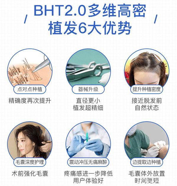 武汉碧莲盛BHT2.0多维高密植发技术