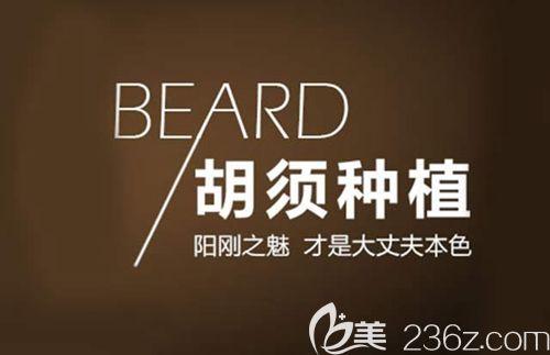 胡须种植让男人更有男人味