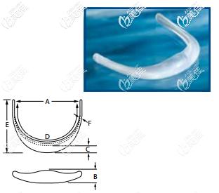菲思挺硅胶下巴假体Terino Extended Anatomical™ Chin系列的所有型号的图片